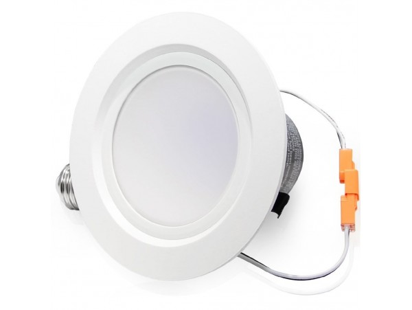 LED-MATE 15Watt 4-inch ENERGY STAR UL-listed Dimmable Retrofit LED Recessed Lighting Fixture - Warm White/Daylight LED Ceiling Light - 850LM 85W Equivalent Remodeled Recessed Downlight