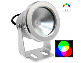 10Watt RGB LED Landscape Lighting - Outdoor LED Accent Light - Waterproof IP-65 - 500LM 120 Degree Beam Angle