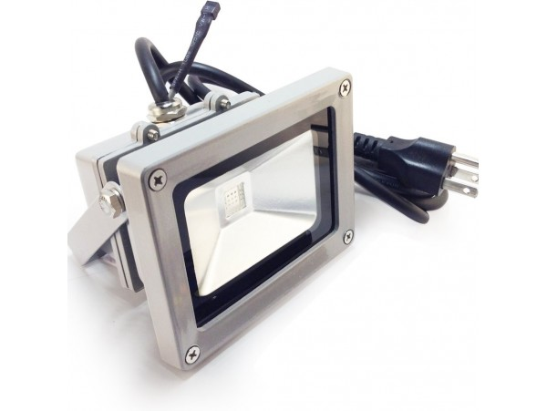 10Watt Outdoor LED Flood Light - Waterproof Warm White/Daylight LED Floodlight - 120° Beam Angle - High Output with Low Consumption