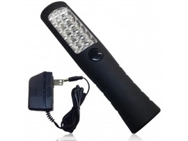 1W Rechargeable LED Work Light with Clip, Magnet, UL-listed Power Supply - Portable Cordless Work Lamp - All Purpose-RWL-05