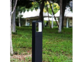 Aluminum Alloy Outdoor LED Bollard Lights - 4W 360LM LED Garden Light Path Light - Weather Resistant LED Landscape Lighting