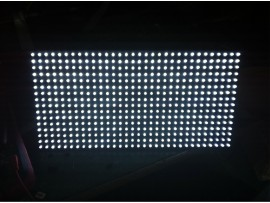 P10 SMD White Single Color LED Display