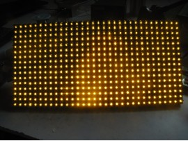 P10 SMD Yellow Single Color LED Display