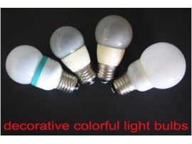 Colorful Decor LED Bulbs