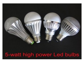 5W High Power LED Bulbs