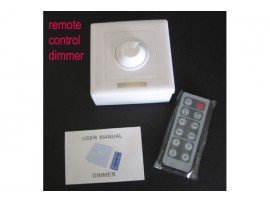 Remote Control Dimmer for Single-color Lights