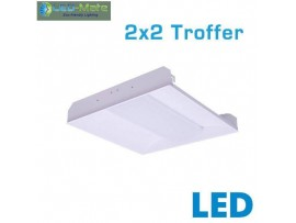 LED-MATE  2x2 LED Recessed Troffer - 34 ..