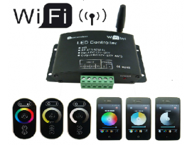 RGB LED Strip Wifi Controller System