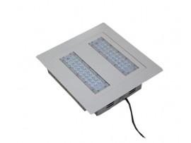 LED Type A LED Gas Station Canopy Lights RL-GS-100W-CREE